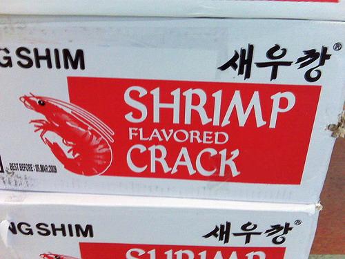 shrimp-flavored